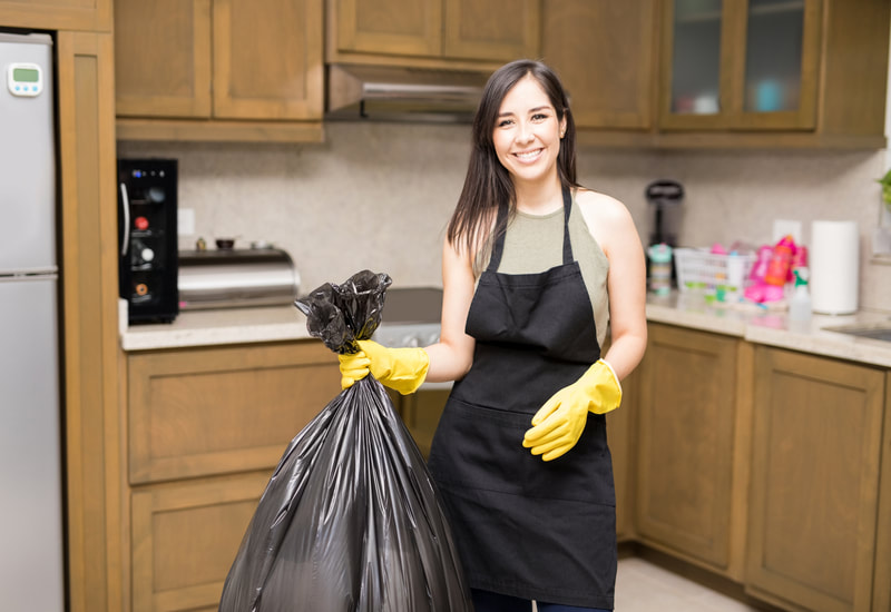 Replacing the trash in each room is a common service we offer.